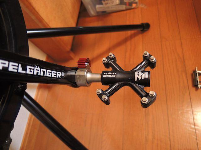 自転車の d2 自転車 タイヤ交換 : DOPPEL GANGER 262 VANTAGEの記録